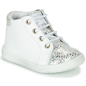 Παπούτσια Κορίτσι Ψηλά Sneakers GBB FAMIA Άσπρο / Silver