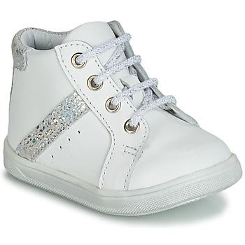 Παπούτσια Κορίτσι Ψηλά Sneakers GBB AGLAE Άσπρο