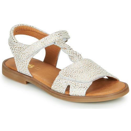 Παπούτσια Κορίτσι Σανδάλια / Πέδιλα GBB FARENA Άσπρο / Gold