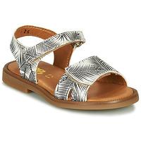 Παπούτσια Κορίτσι Σανδάλια / Πέδιλα GBB CAVOLA Άσπρο / Black