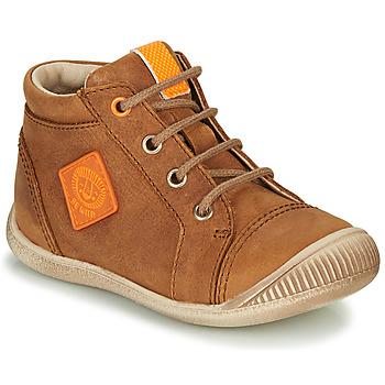 Παπούτσια Αγόρι Ψηλά Sneakers GBB TARAVI Brown