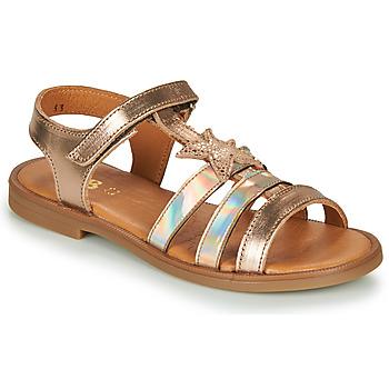Παπούτσια Κορίτσι Σανδάλια / Πέδιλα GBB OLGA Ροζ / Χρυσο