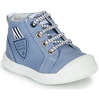 Παπούτσια Αγόρι Ψηλά Sneakers GBB GREGOR Μπλέ