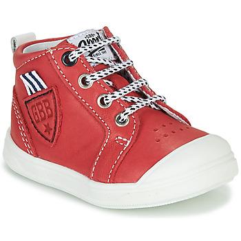 Παπούτσια Αγόρι Ψηλά Sneakers GBB GREGOR Red