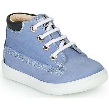 Παπούτσια Αγόρι Ψηλά Sneakers GBB NORMAN Μπλέ
