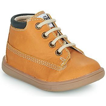 Παπούτσια Αγόρι Ψηλά Sneakers GBB NORMAN Orange
