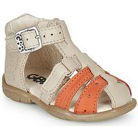 Παπούτσια Αγόρι Σανδάλια / Πέδιλα GBB BORETTI Beige / Orange
