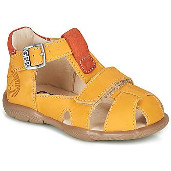 Παπούτσια Αγόρι Σανδάλια / Πέδιλα GBB SEROLO Yellow / Orange