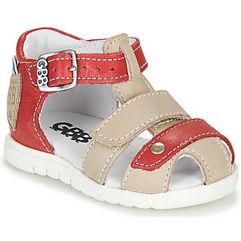 Παπούτσια Αγόρι Σανδάλια / Πέδιλα GBB BASILA Red / Beige