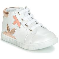 Παπούτσια Κορίτσι Ψηλά Sneakers GBB ALEXA Άσπρο