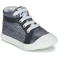 Παπούτσια Κορίτσι Ψηλά Sneakers GBB NAVETTE Μπλέ