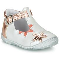 Παπούτσια Κορίτσι Μπαλαρίνες GBB ANAXI Άσπρο / Ροζ / Χρυσο