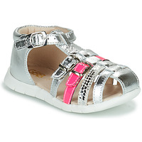Παπούτσια Κορίτσι Σανδάλια / Πέδιλα GBB PERLE Silver