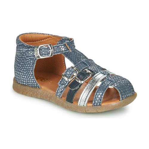 Παπούτσια Κορίτσι Σανδάλια / Πέδιλα GBB PERLE Μπλέ