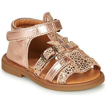 Παπούτσια Κορίτσι Σανδάλια / Πέδιλα GBB CARETTE Ροζ / Χρυσο