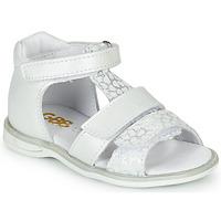 Παπούτσια Κορίτσι Σανδάλια / Πέδιλα GBB NAVIZA Άσπρο
