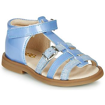 Παπούτσια Κορίτσι Σανδάλια / Πέδιλα GBB ANTIGA Μπλέ