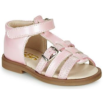 Παπούτσια Κορίτσι Σανδάλια / Πέδιλα GBB ANTIGA Ροζ