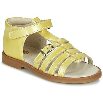 Παπούτσια Κορίτσι Σανδάλια / Πέδιλα GBB ANTIGA Yellow