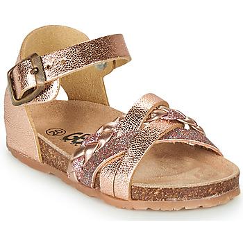 Παπούτσια Κορίτσι Σανδάλια / Πέδιλα GBB ALECTA Ροζ / Χρυσο