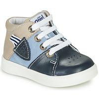 Παπούτσια Αγόρι Ψηλά Sneakers GBB AMOS Μπλέ
