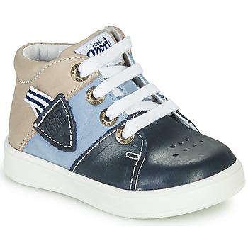 Ψηλά Sneakers GBB AMOS ΣΤΕΛΕΧΟΣ: Δέρμα & ΕΠΕΝΔΥΣΗ: Δέρμα & ΕΣ. ΣΟΛΑ: Δέρμα & ΕΞ. ΣΟΛΑ: Καουτσούκ