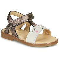 Παπούτσια Κορίτσι Σανδάλια / Πέδιλα GBB NAZETTE Beige / Bronze