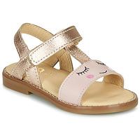 Παπούτσια Κορίτσι Σανδάλια / Πέδιλα GBB NAZETTE Ροζ
