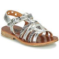 Παπούτσια Κορίτσι Σανδάλια / Πέδιλα GBB FANNI Silver