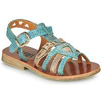 Παπούτσια Κορίτσι Σανδάλια / Πέδιλα GBB FANNI Μπλέ