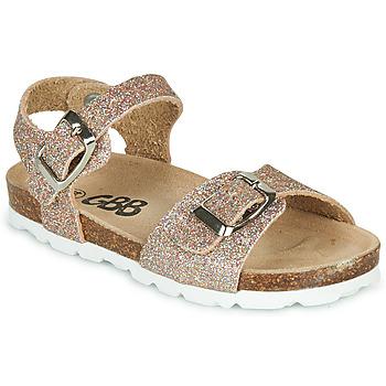 Παπούτσια Κορίτσι Σανδάλια / Πέδιλα GBB PIPPA Ροζ / Χρυσο