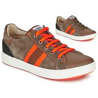 Παπούτσια Αγόρι Χαμηλά Sneakers GBB ANTENO Brown / Orange