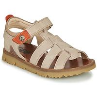 Παπούτσια Αγόρι Σανδάλια / Πέδιλα GBB PATHE Beige