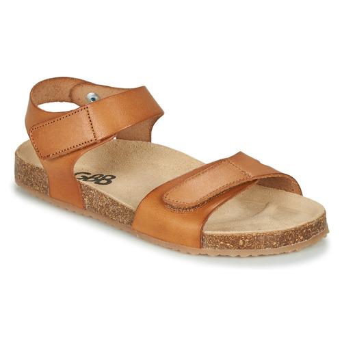 Παπούτσια Αγόρι Σανδάλια / Πέδιλα GBB KIPILO Cognac
