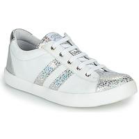 Παπούτσια Κορίτσι Χαμηλά Sneakers GBB MAPLUE Άσπρο / Silver