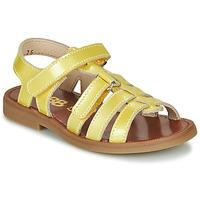 Παπούτσια Κορίτσι Σανδάλια / Πέδιλα GBB KATAGAMI Yellow