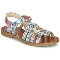 Παπούτσια Κορίτσι Σανδάλια / Πέδιλα GBB KATAGAMI Ροζ / Multicolour