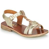 Παπούτσια Κορίτσι Σανδάλια / Πέδιλα GBB EUGENA Gold