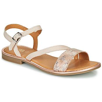 Παπούτσια Κορίτσι Σανδάλια / Πέδιλα GBB FANA Beige / Ροζ