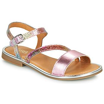 Παπούτσια Κορίτσι Σανδάλια / Πέδιλα GBB FANA Ροζ / Multicolour