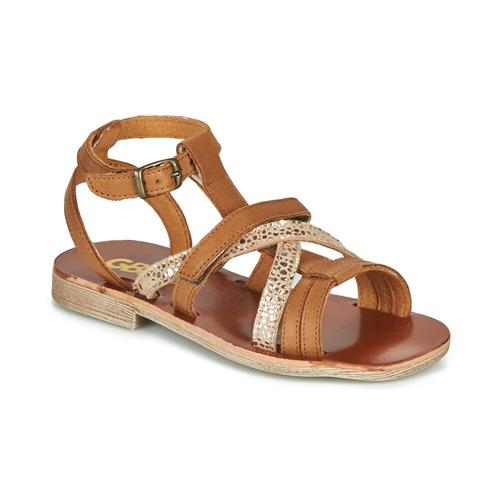 Παπούτσια Κορίτσι Σανδάλια / Πέδιλα GBB JULIA Brown
