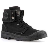 Παπούτσια Άνδρας Ψηλά Sneakers Palladium Mens  Baggy 02353-060-M black