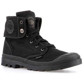 Παπούτσια Άνδρας Ψηλά Sneakers Palladium Manufacture Mens  Baggy 02353-060-M black