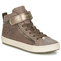 Παπούτσια Κορίτσι Ψηλά Sneakers Geox KALISPERE Beige