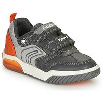 Παπούτσια Αγόρι Χαμηλά Sneakers Geox INEK BOY Grey