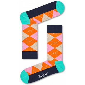 Αξεσουάρ Άνδρας Κάλτσες Happy Socks Argyle sock Πολύχρωμο
