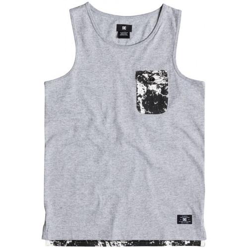 Υφασμάτινα Παιδί Αμάνικα / T-shirts χωρίς μανίκια DC Shoes Owensboroby b Γκρι