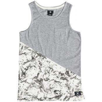 Υφασμάτινα Παιδί Αμάνικα / T-shirts χωρίς μανίκια DC Shoes Bloomingtonb b Άσπρο