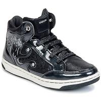 Παπούτσια Κορίτσι Ψηλά Sneakers Geox CREAMY A Black