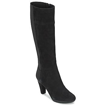 Παπούτσια Γυναίκα Μπότες για την πόλη Geox INSPIRAT ST C Black